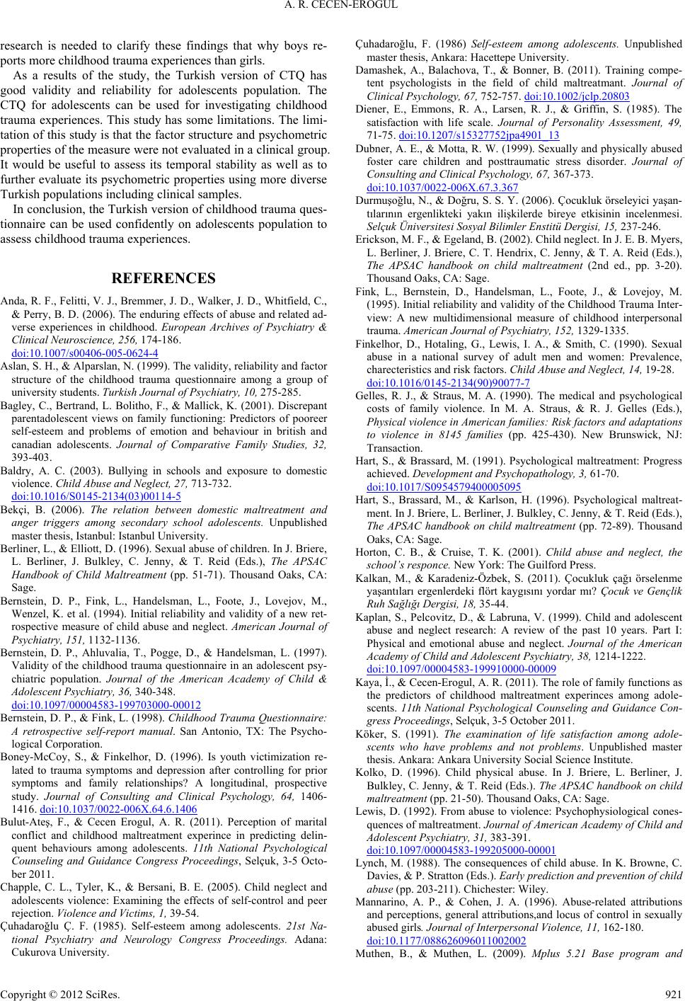 childhood trauma questionnaire bernstein pdf