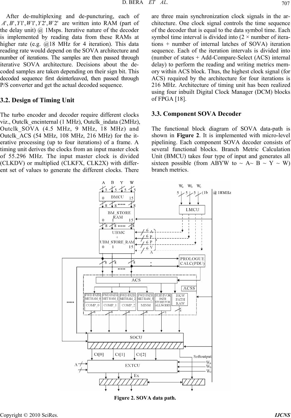 sova decoder ph d thesis Pavel šilhavý, phd  this diploma thesis aims to explain the data coding using turbo  turbo codes, encoder, decoder, sova, map, matlab gui, matlab simulink.