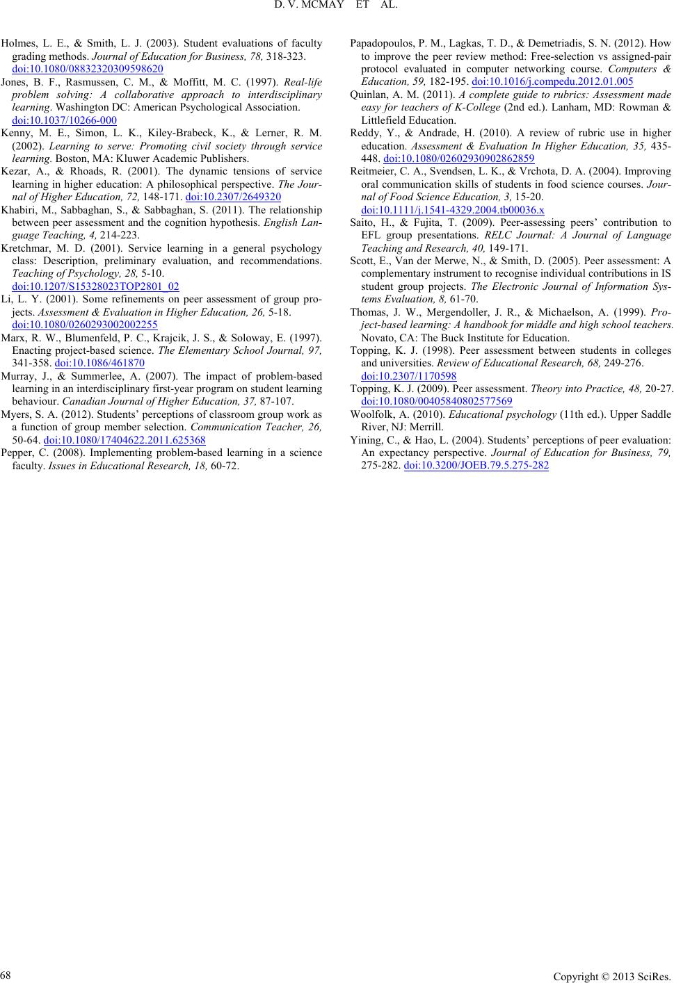 problem based learning journal pdf