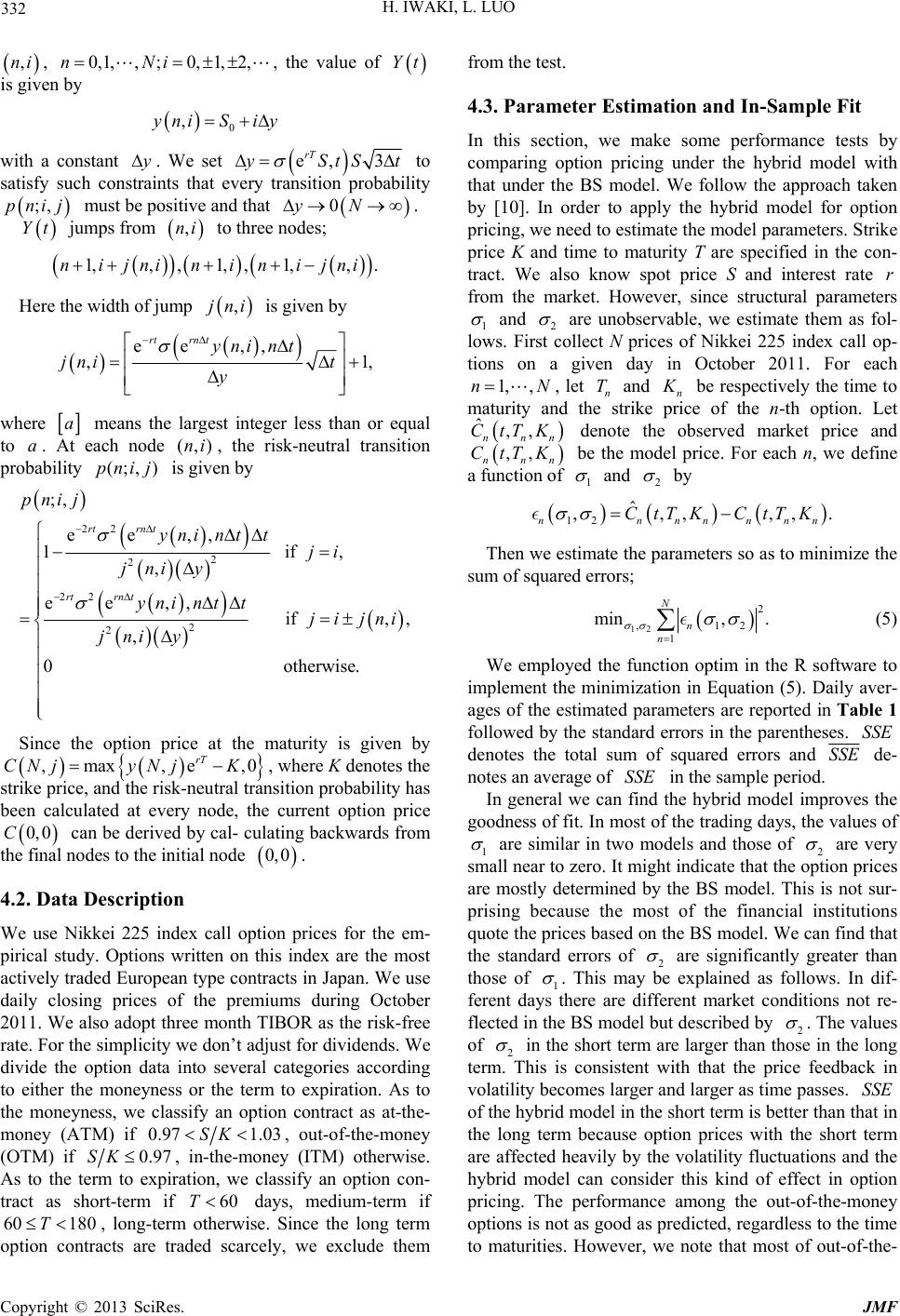 brownian motion journal Brownian motion, isn't that the physics theory i studied in high school  [9]  mfm osborne, random nature of stock market prices, journal of economics.