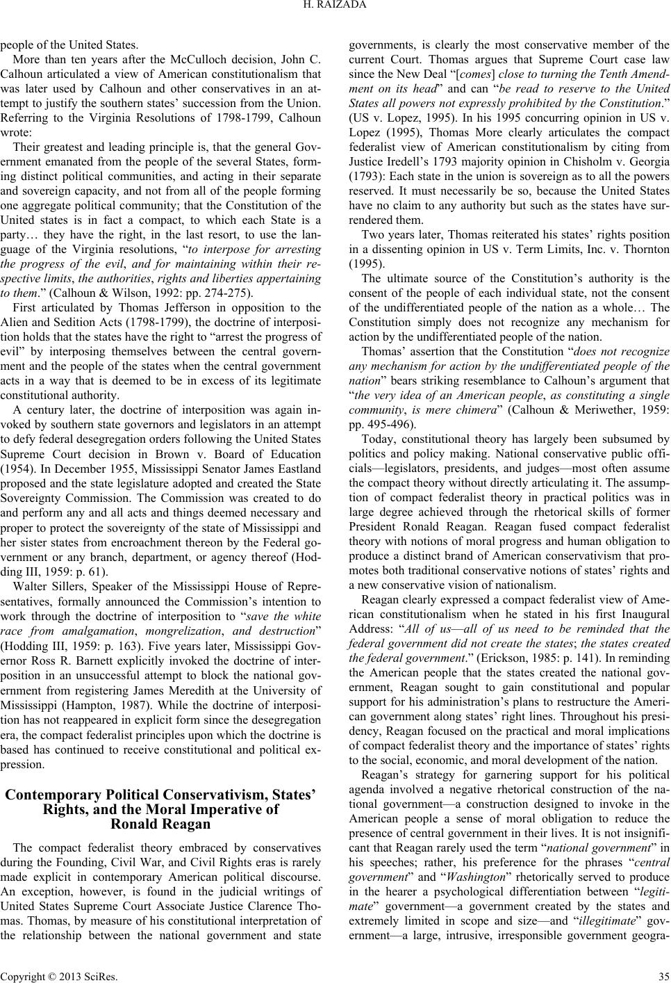 an essay on the stance of john c calhoun on southern succession Vice president john c calhoun called it a tariff of abominations meant to favor   the nullification crisis foreshadowed the eventual secession of the south in   assign students to write an essay comparing the tariff and slave controversy at.