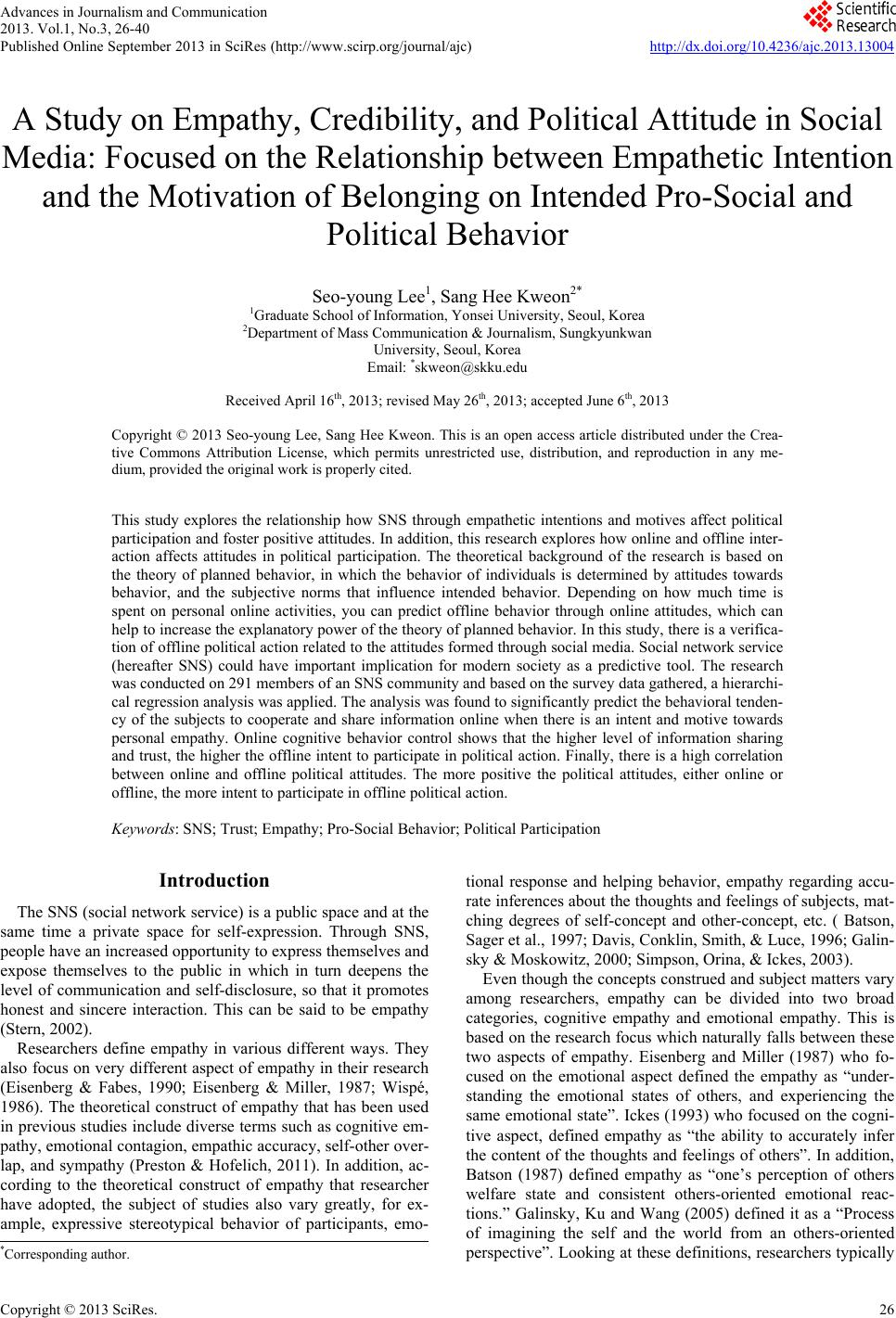 essays on mass behavior The decline of social capital and political behavior due to technology and mass media the advance of technology has always been considered as beneficial to soci.