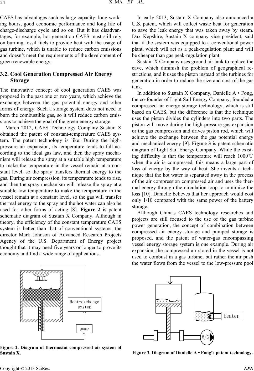 Compressed air energy storage thesis