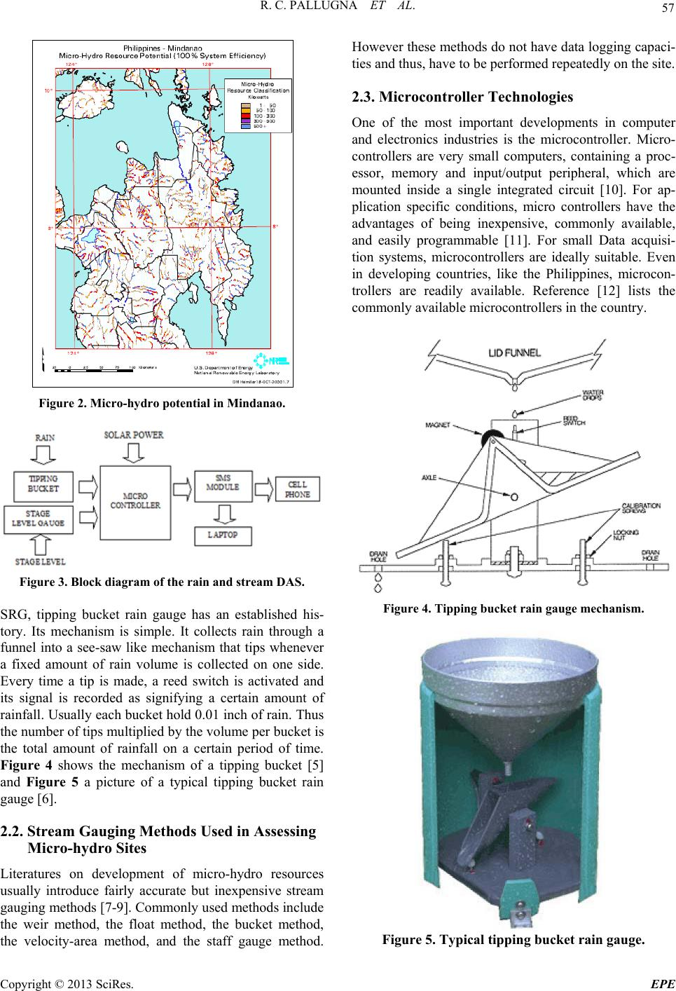 Low Cost Remote Rain And Stream Data Acquisition System