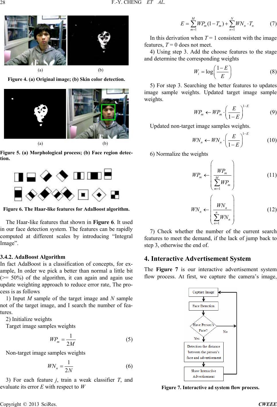 Digital Interactive Kanban Advertisement System Using Face