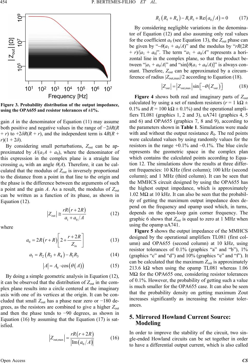 High Accurate Howland Current Source: Output Constraints ...  High Accurate H...