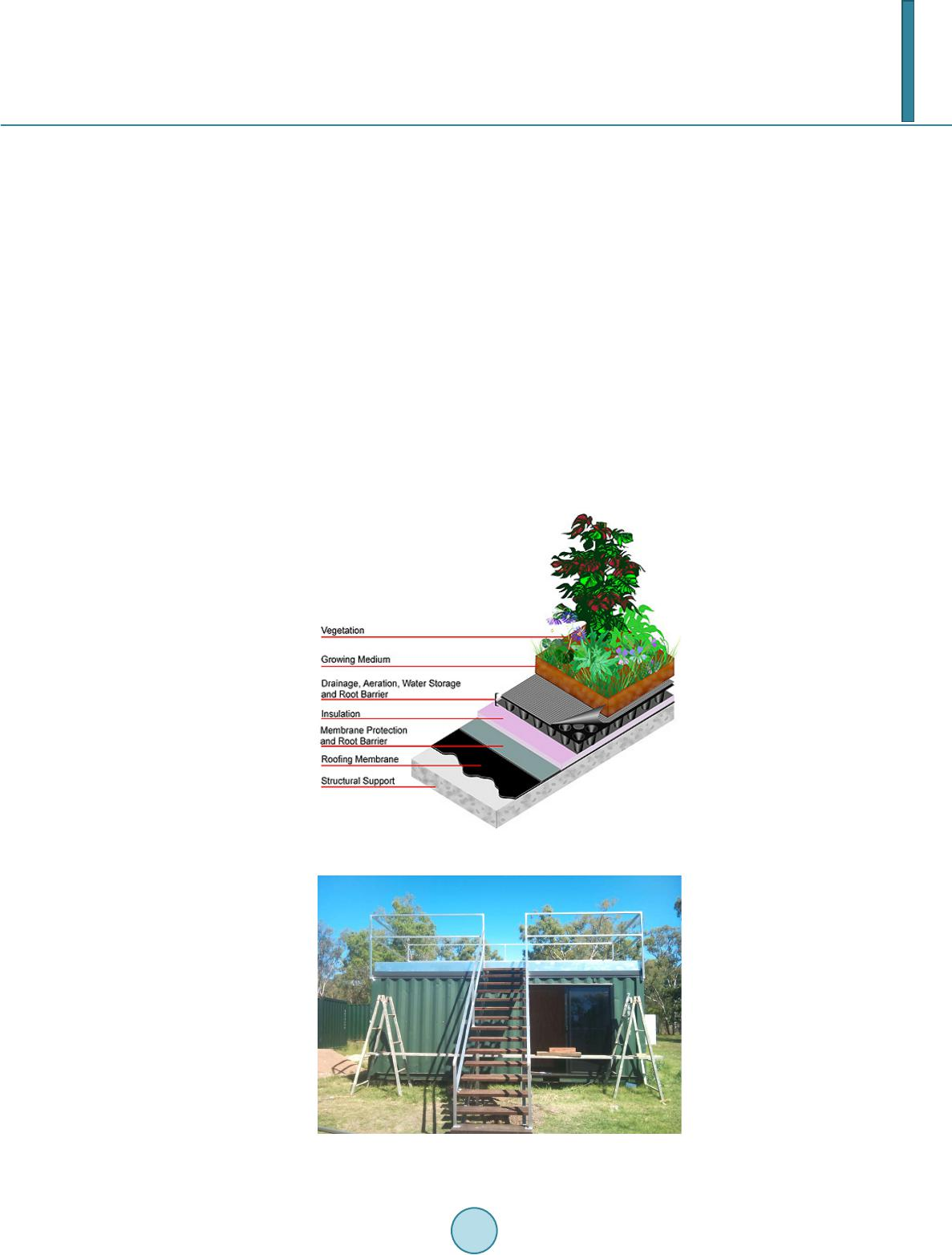 Performance Evaluation Of Hybrid Green Roof System In A