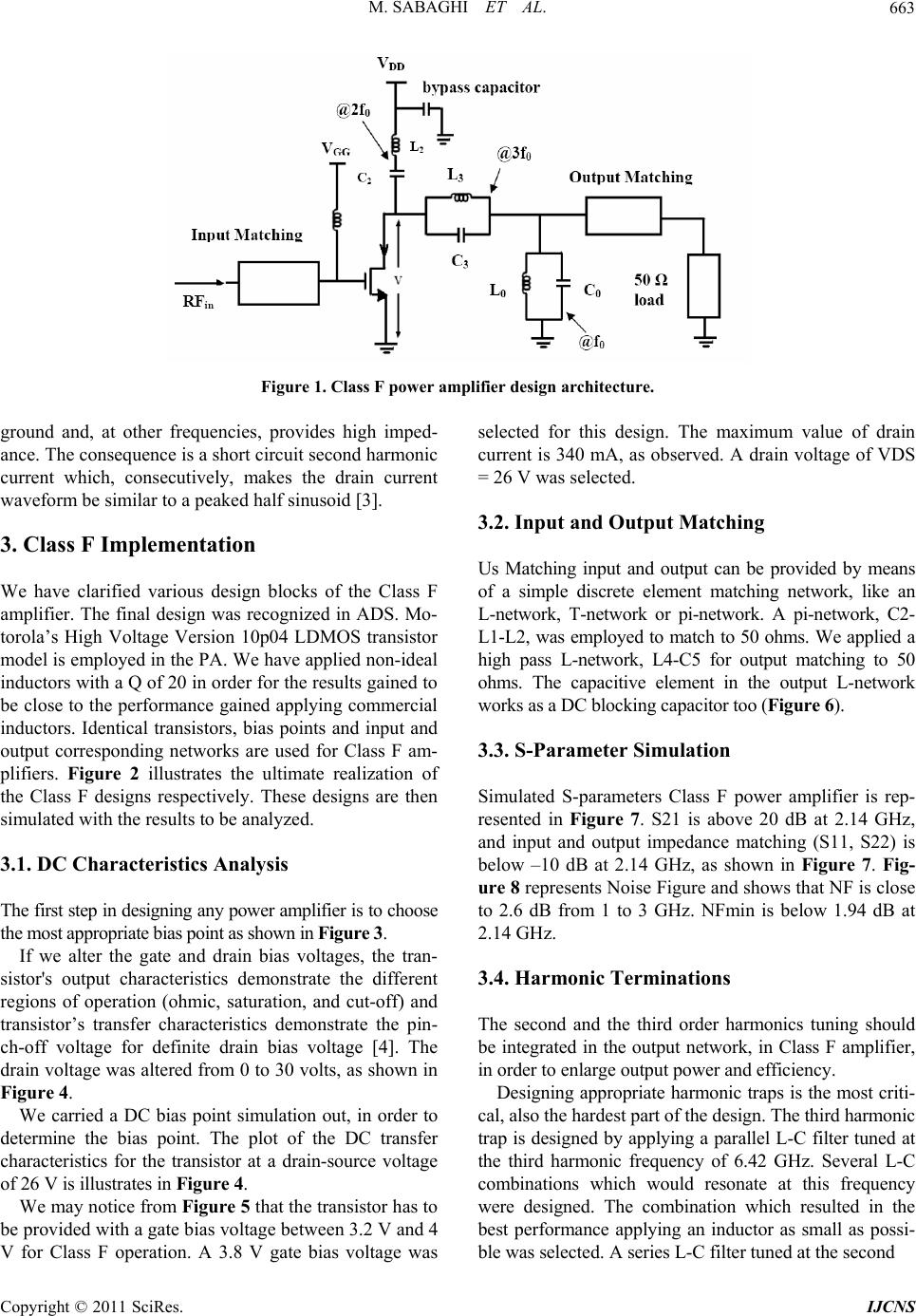 "class e power amplifier thesis High speed communication circuits  class e power amplifier  ""linearization of a pulsewidth modulated power amplier,"" sb thesis, mit, june 2004 v d i d v."
