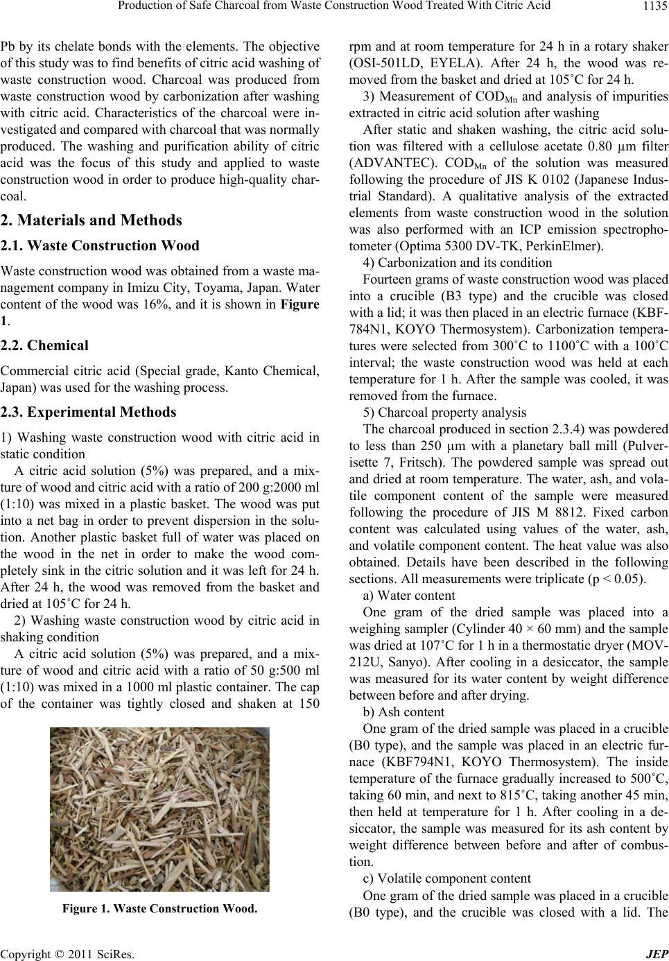 production of citric acid pdf