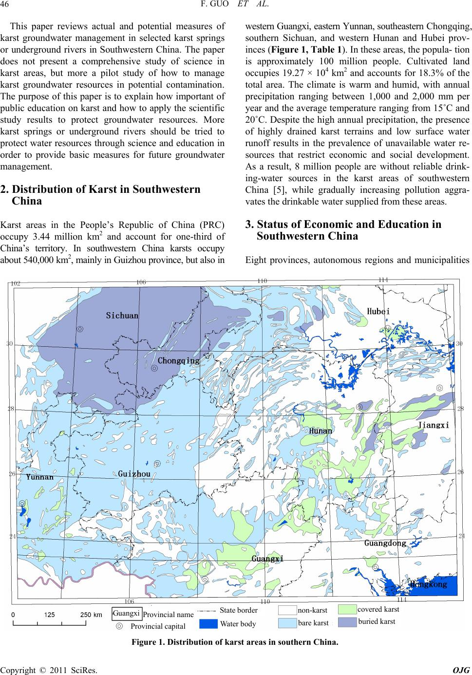 karst thesis Karst aquifer nw arkansas ryan t doucette 68 pages may 2012 this thesis reports the results of a six month thermal investigation that monitored varying groundwater flow paths in a mantled karst aquifer thermal patterns of subsurface.