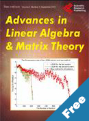 Advances in Linear Algebra & Matrix Theory