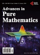 Advances in Pure Mathematics