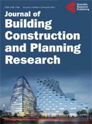 Journal of Building Construction and Planning Research