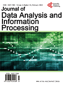 Journal of Data Analysis and Information Processing