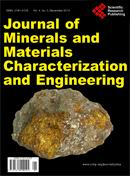 Journal of Minerals and Materials Characterization and Engineering