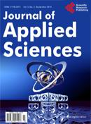 Open Journal of Applied Sciences