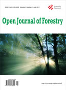 Open Journal of Forestry
