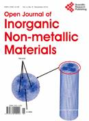 Open Journal of Inorganic Non-metallic Materials