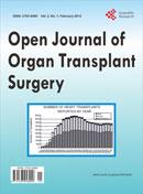 Open Journal of Organ Transplant Surgery