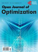 Open Journal of Optimization