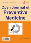 Open Journal of Preventive Medicine