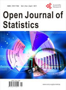 Open Journal of Statistics